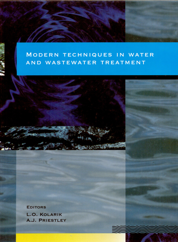The cover image featuring  twp images of water surfaces, one with a center