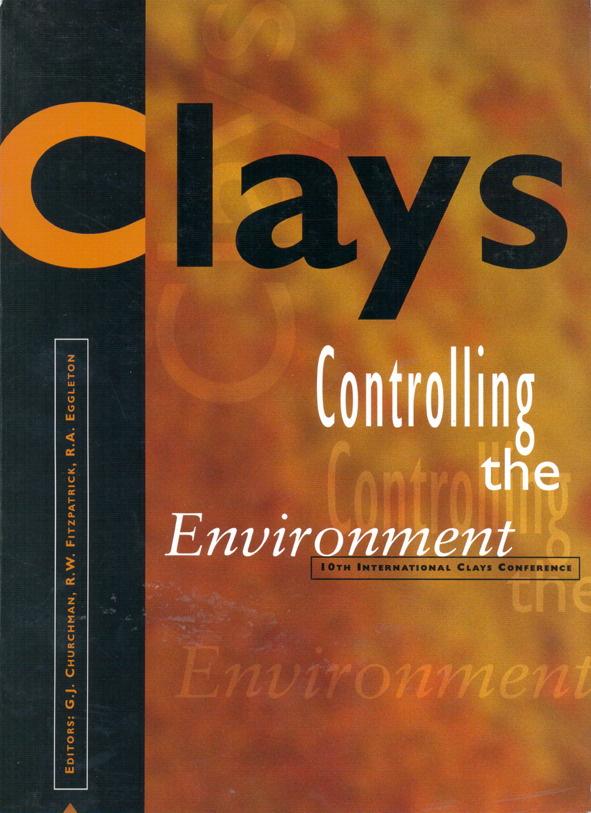 The cover image of Clays: Controlling the Environment, featuring a dark gr