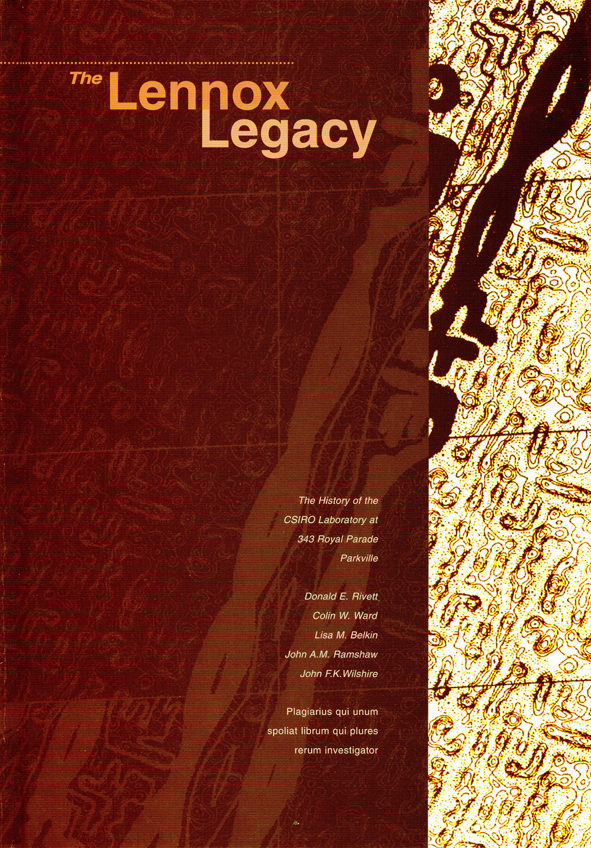 The cover image of The Lennox Legacy, featuring a pale yellow patterned ba