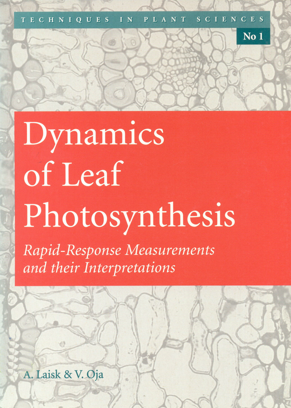 The cover image featuring a close up pale yellow image of a leaf, with a p