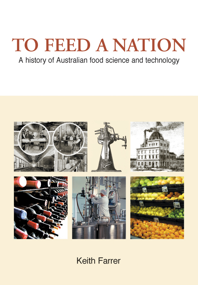 The cover image of To Feed A Nation, featuring three historical pictures a