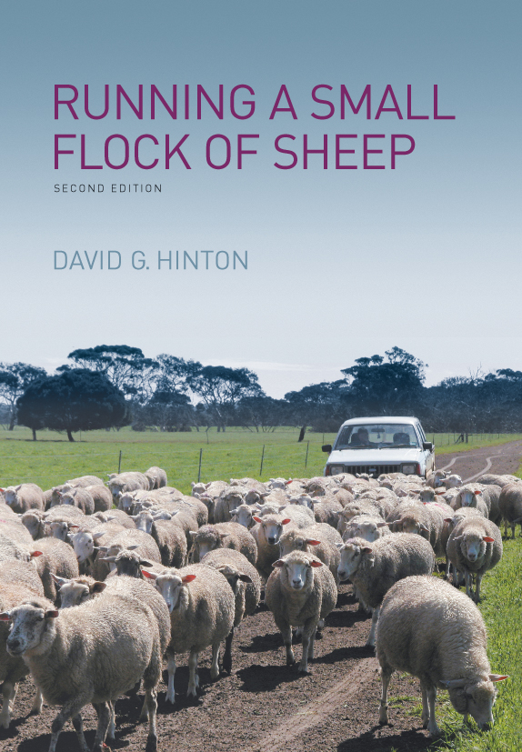 The cover image featuring a flock of white sheep being herded down a dirt