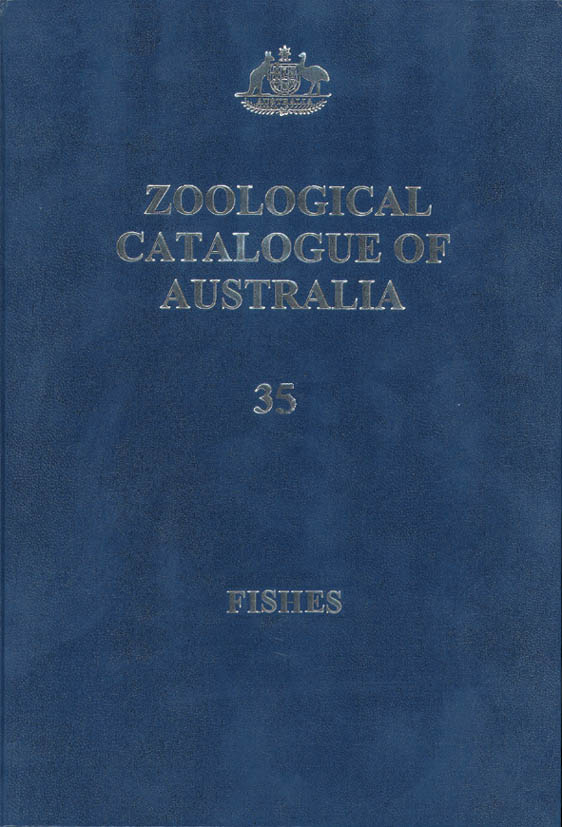 cover of Zoological Catalogue of Australia Volume 35, Parts 1 – 3
