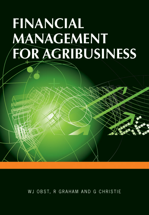 The cover image of Financial Management for Agribusiness, featuring a gree