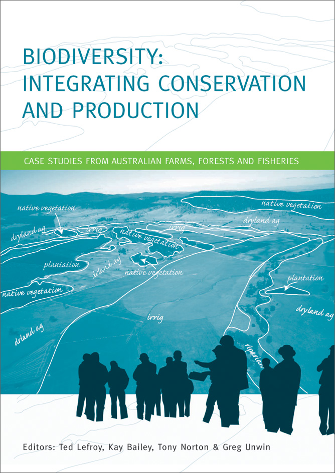 The cover image of Biodiversity: Integrating Conservation and Production,