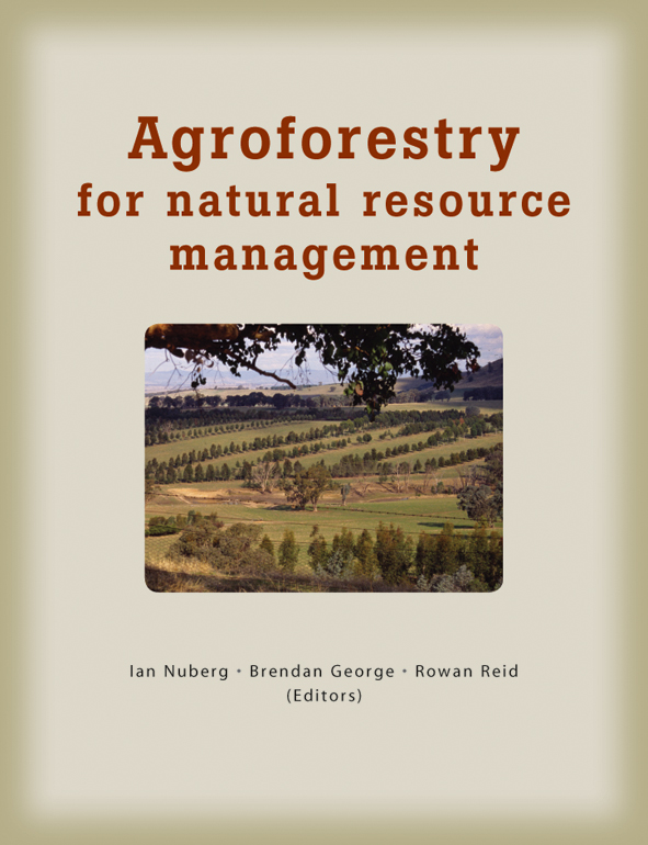 The cover image of Agroforestry for Natural Resource Management, featuring