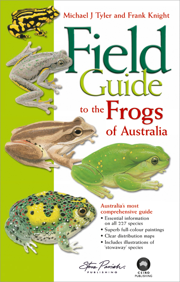 cover of Field Guide to the Frogs of Australia