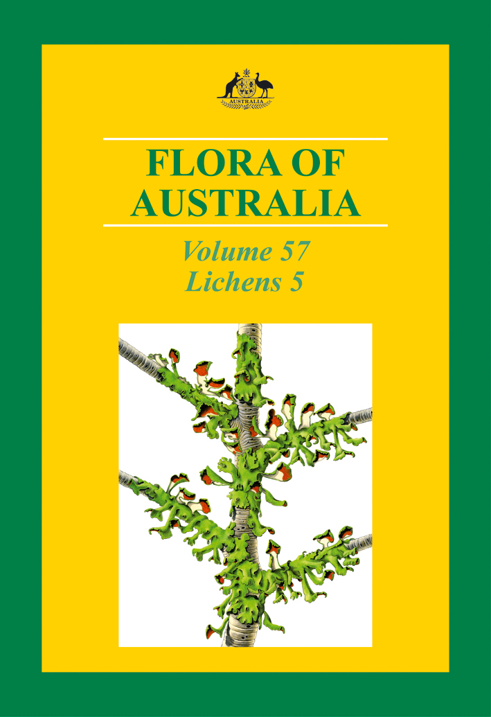 The cover image of Flora of Australia Volume 57, featuring an illustration