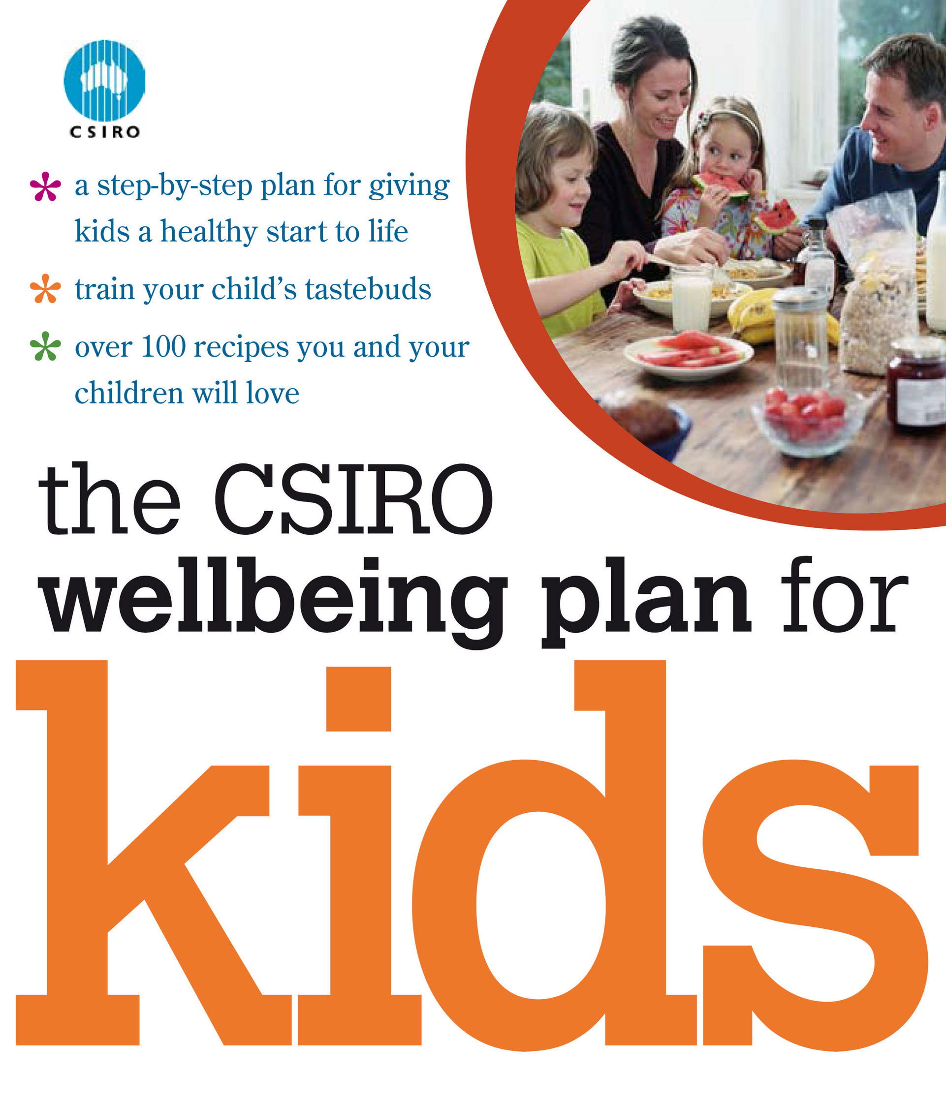 cover of CSIRO Wellbeing Plan for Kids