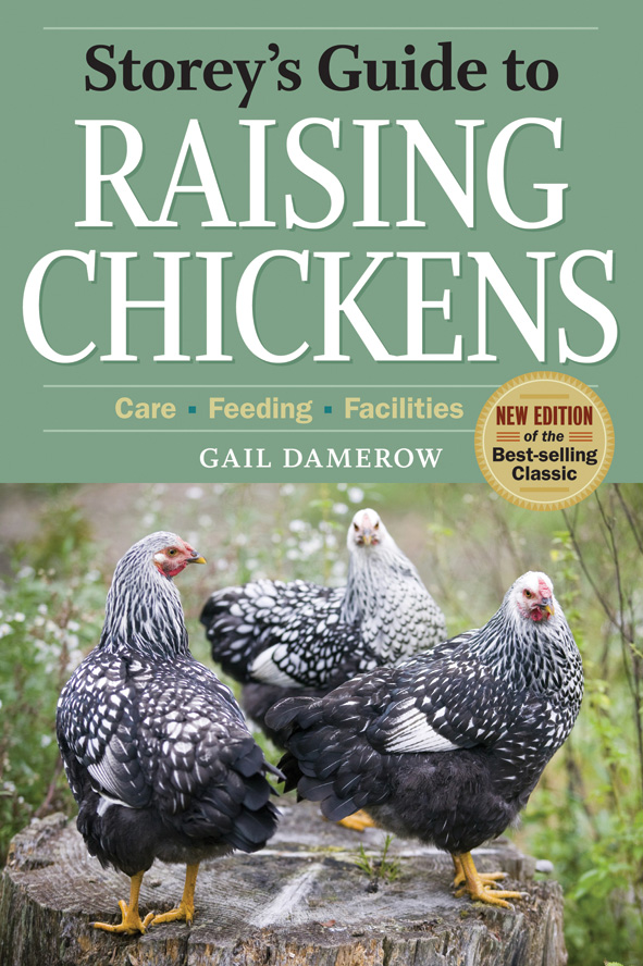 cover of Storey's Guide to Raising Chickens