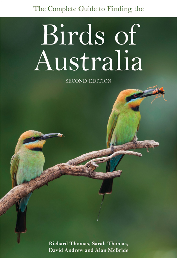 Cover image featuring two brightly coloured birds perched on a branch, wit