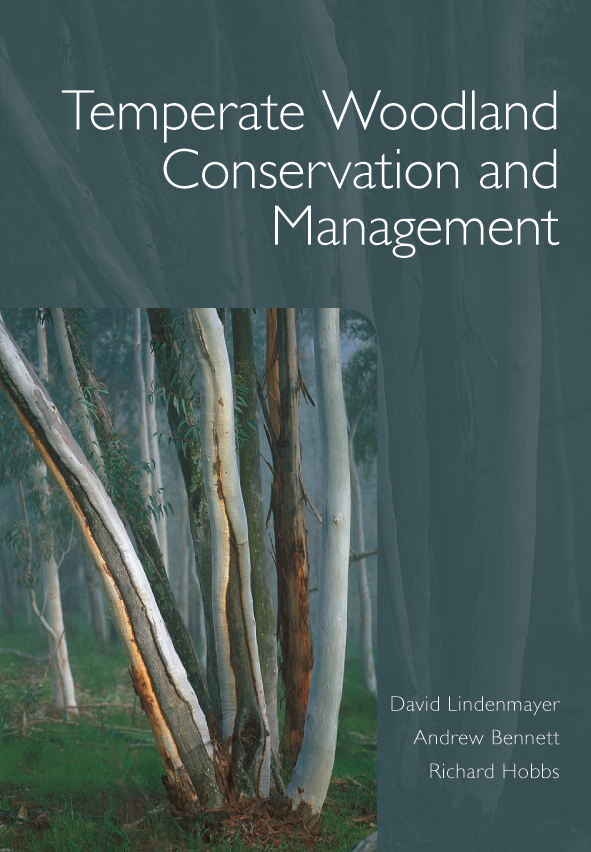 The cover image of Temperate Woodland Conservation and Management, featuri