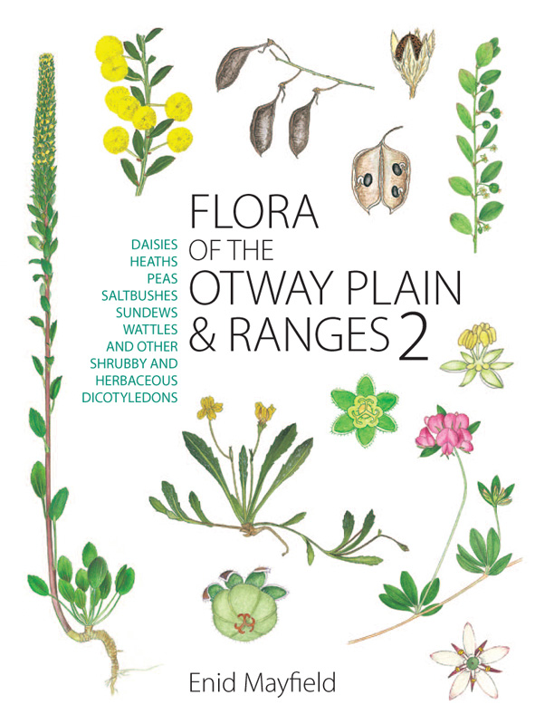 The cover image featuring native flowers, leaves and seed pods against a p