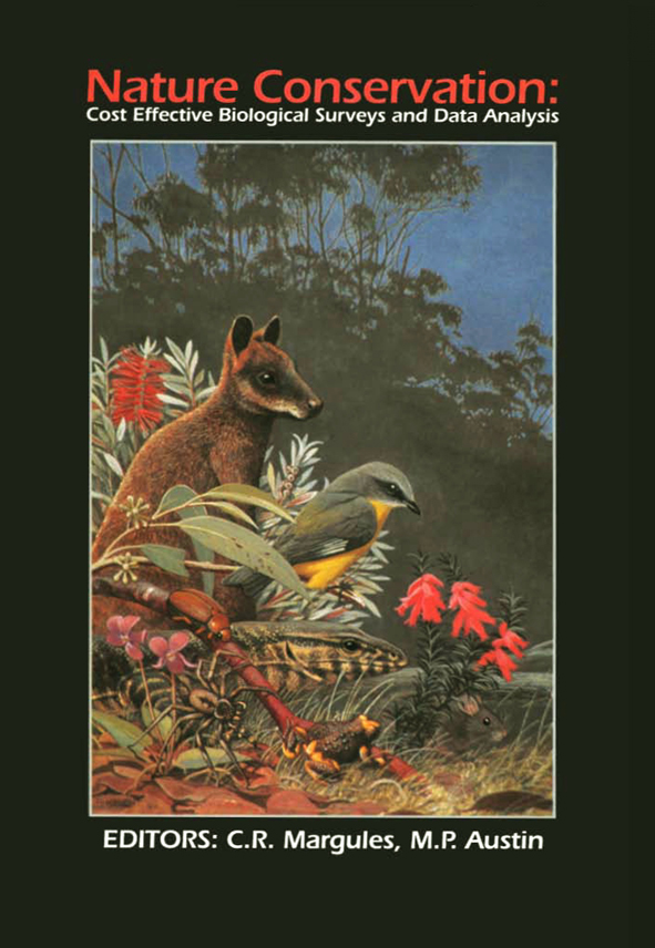 The cover image of Nature Conservation, featuring various animals together