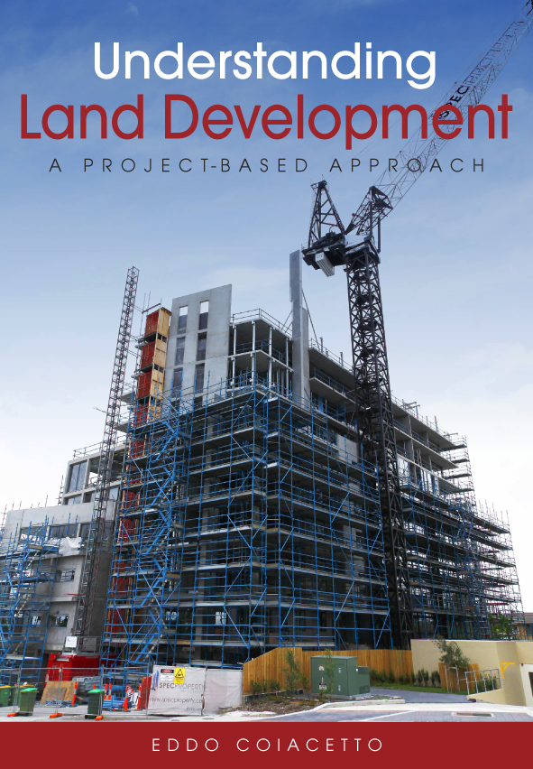 The cover image of Understanding Land Development, featuring a multi store