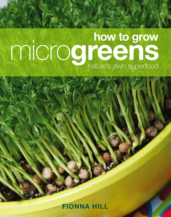 cover of How to Grow Microgreens
