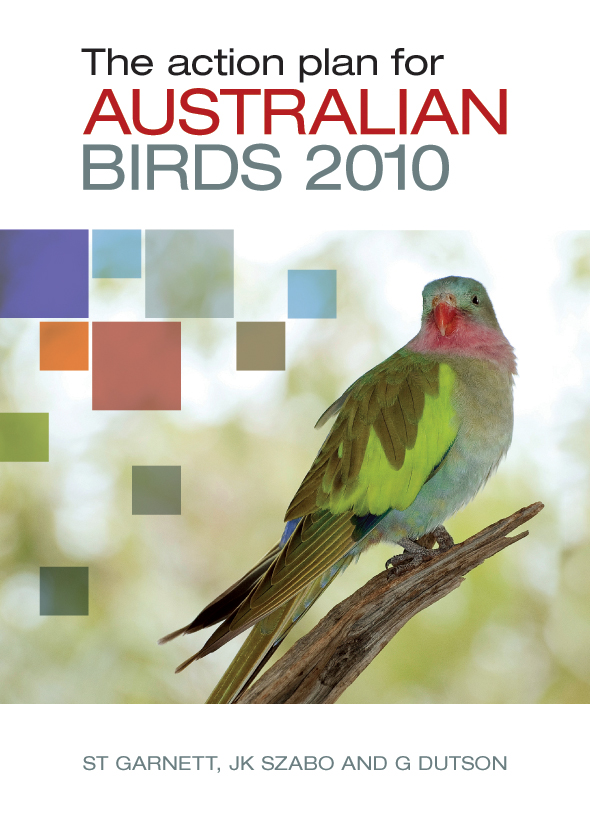 The cover image features a brightly coloured bird perched on a piece of br