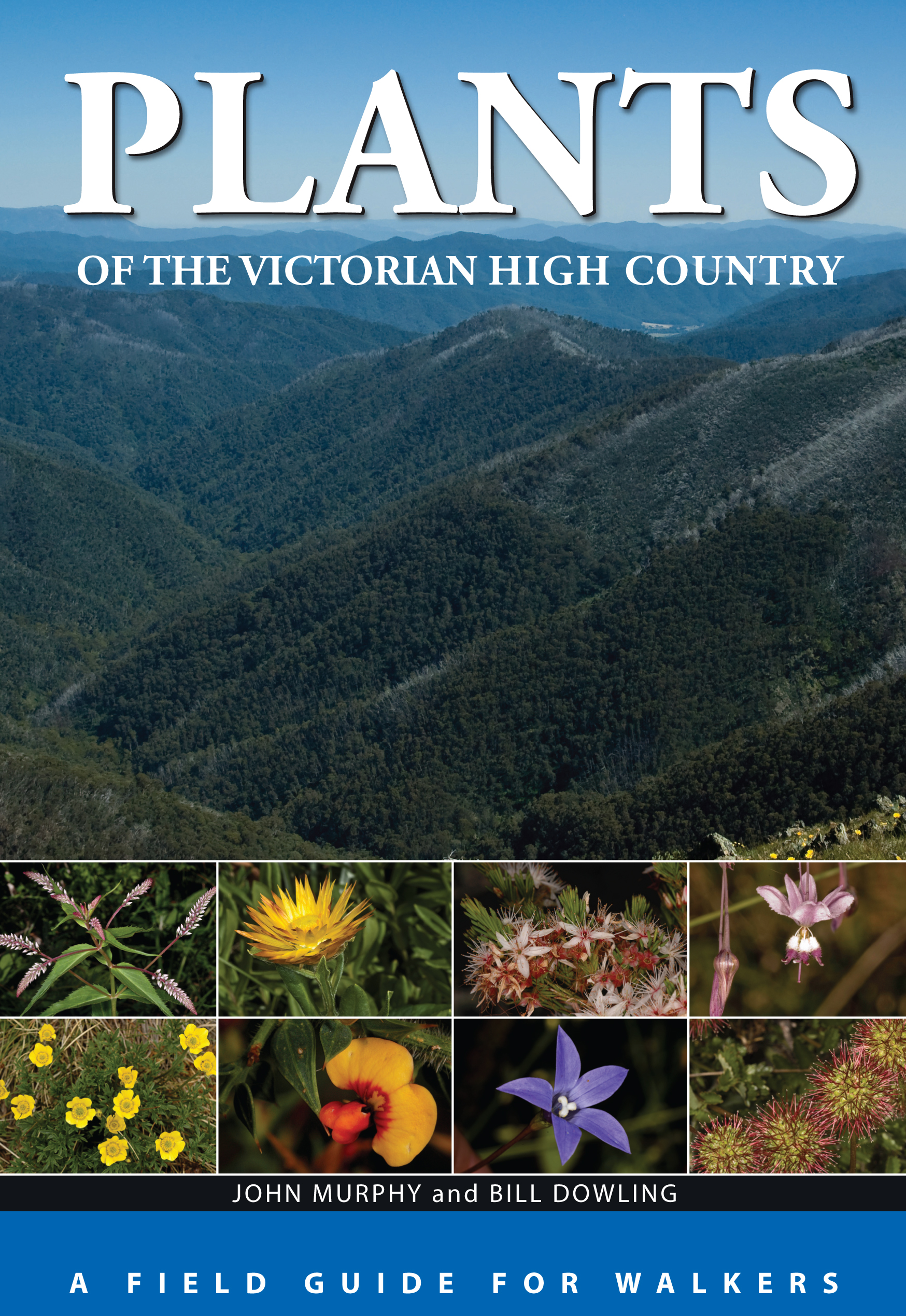 The cover image of Plants of the Victorian High Country, features a green