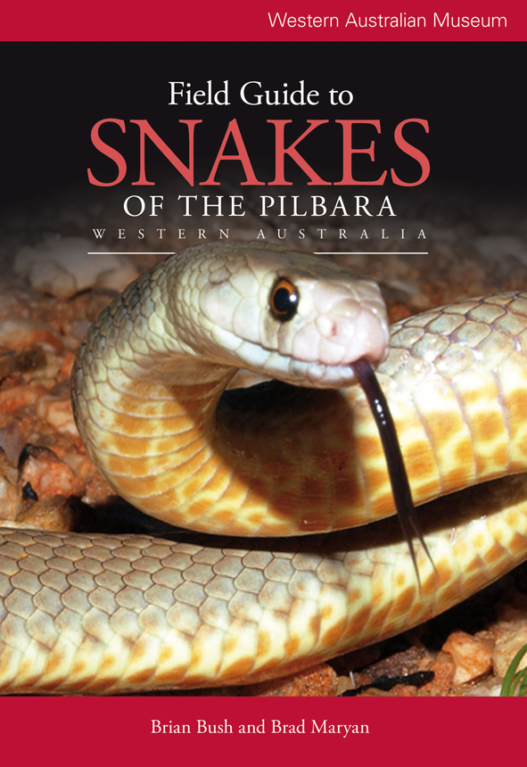 cover of Field Guide to Snakes of the Pilbara, Western Australia