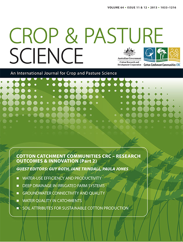 cover of Cotton Catchment Communities CRC – Research Outcomes & Innovatio