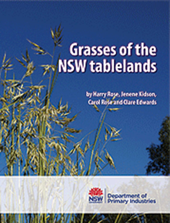 cover of Grasses of the NSW Tablelands
