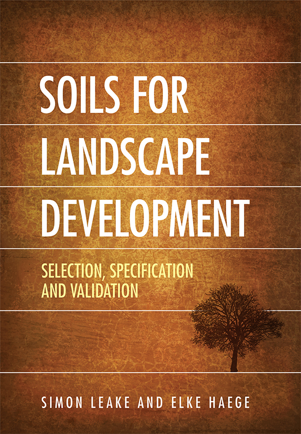 cover of Soil Specifications Templates
