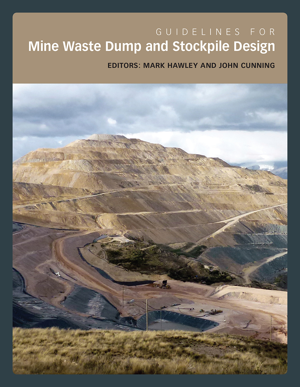 Cover featuring an image of a pyramid-shaped mine waste dump.