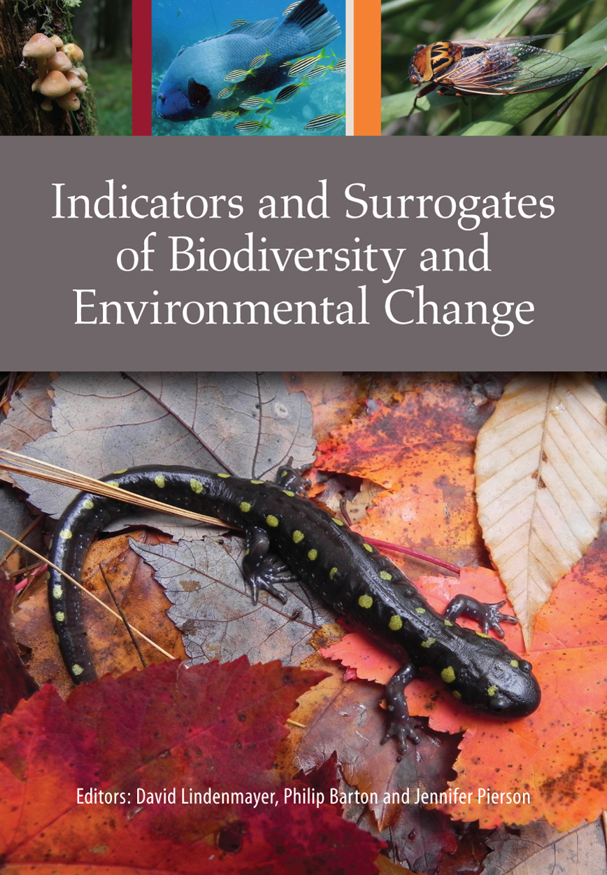 Cover features a spotted salamander with smaller images of mushrooms, a bl