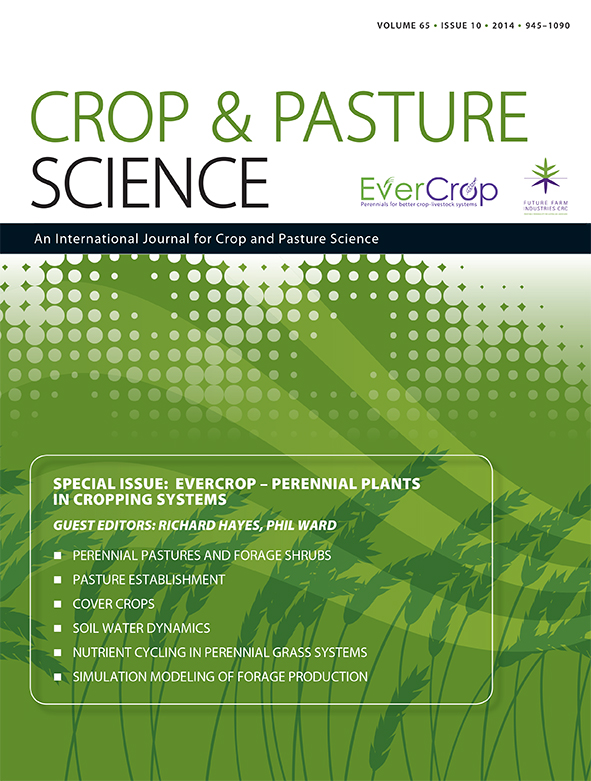 cover of EverCrop – Perennial Plants in Cropping Systems