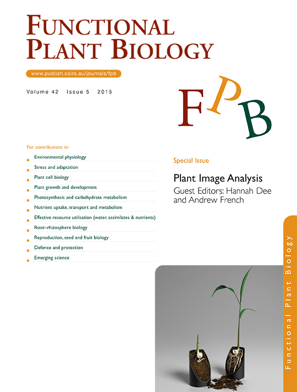 cover of Plant Image Analysis