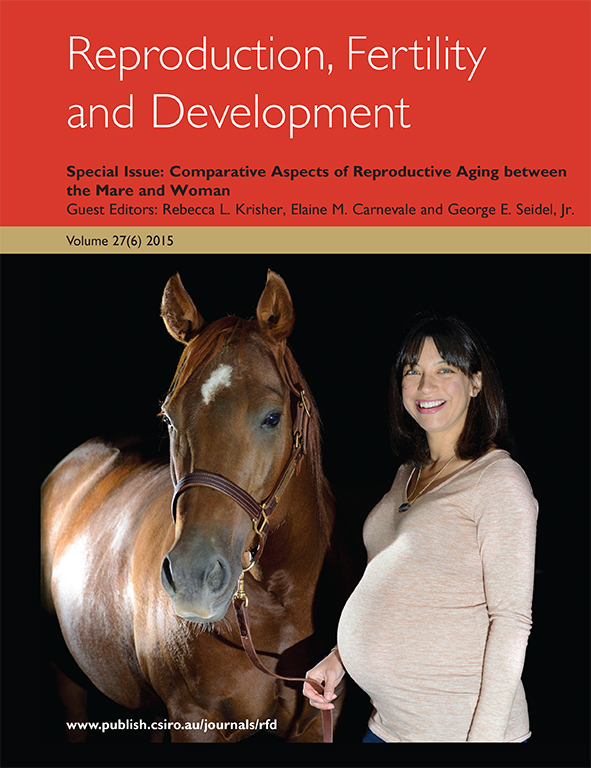 cover of Comparative Aspects of Reproductive Aging between the Mare and W