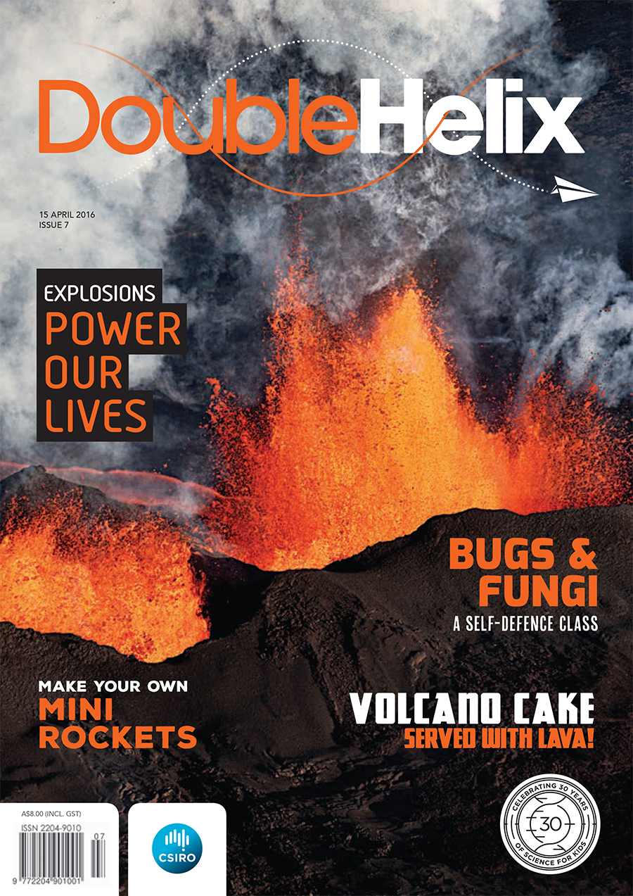 cover of Double Helix Issue 07