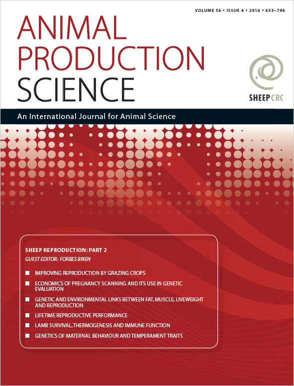 cover of Sheep Reproduction: Part 2