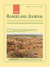 cover of Managing the Impacts of Feral Camels across the Rangelands: Resu