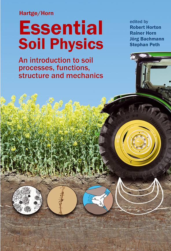 Cover image featuring green tractor and crop growing in soil, overlaid wit
