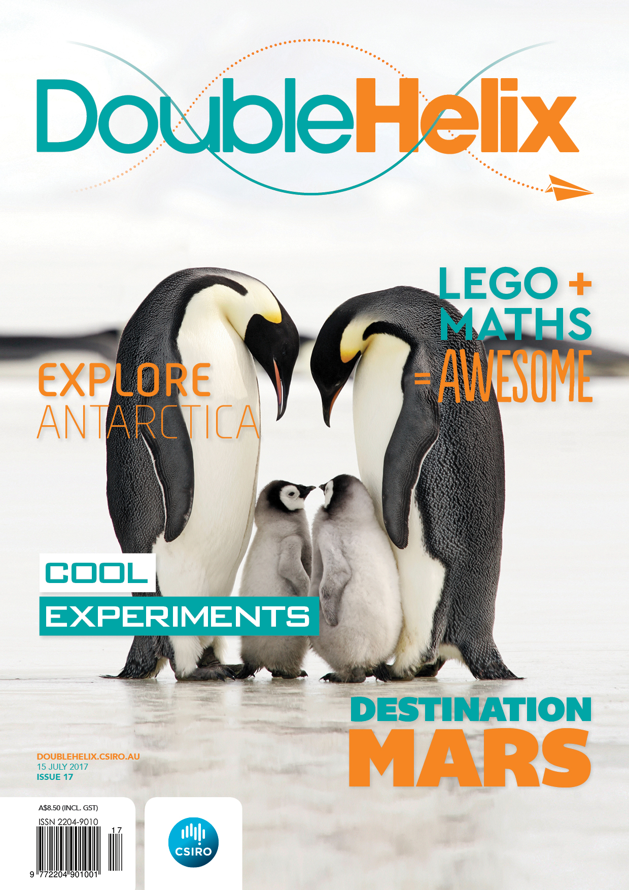 cover of Double Helix Issue 17