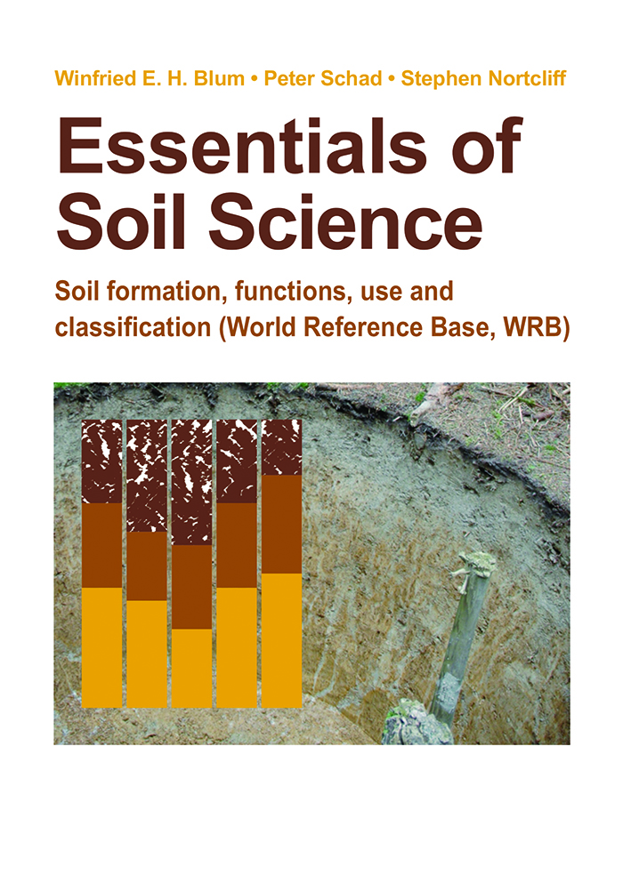 Cover image featuring photograph of soil profile and coloured chart on whi