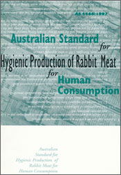 Cover image of Australian Standard for Production of Rabbit Meat for Human