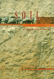 The cover image of Soil Analysis: An Interpretation Manual, featuring pale