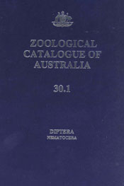 Zoological Catalogue of Australia Volume 30.1