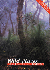 The cover image of Wild Places of Greater Melbourne, featuring a view of m