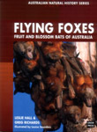 Cover image of Flying Foxes, featuring flying foxes hanging off a tree bra