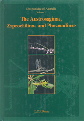 The cover image featuring three images of dragonflies, set into a dark gre