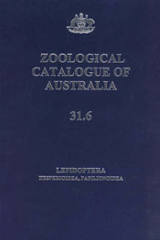 The cover image of Zoological Catalogue of Australia Volume 31.6, featurin