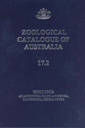 Zoological Catalogue of Australia Volume 17.2