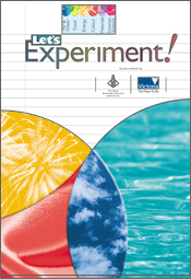 Cover image of Let's Experiment, featuring intersecting circles of texture