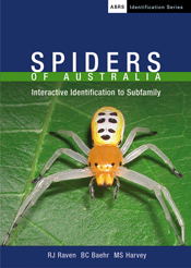 Spiders of Australia CD-Rom