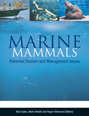 The cover image featuring three images of marine life across the top, and