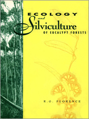 The cover image featuring a green strip up the left of gumtrees and a plai