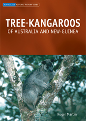 The cover image of Tree-kangaroos of Australia and New Guinea, featuring a